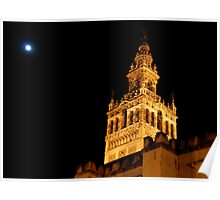 Seville's stunning cathedral Poster