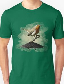 Mr. Robin Finds the Key Unisex T-Shirt