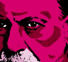 Pink Freud Sticker