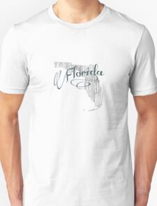 Florida State Typography T-Shirt