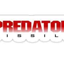 Predator Missile Sticker