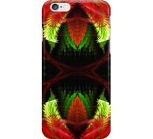 Red Spikes iPhone Case/Skin
