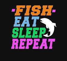 FISH EAT SLEEP REPEAT Unisex T-Shirt