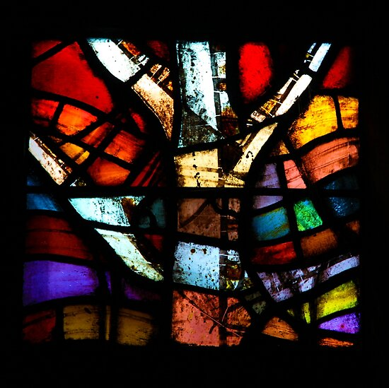 Stained Glass in Coventry Cathedral by John Dalkin