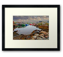 PEGGYS COVE Framed Print