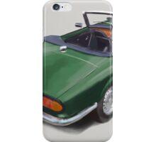 Triumph Spitfire Racing Green iPhone Case/Skin