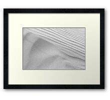Dunescape 07 - St Annes on Sea Dunes, Fylde, Lancs Framed Print