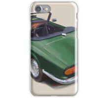 Triumph Spitfire racinggreen  iPhone Case/Skin