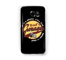 dad's garage Samsung Galaxy Case/Skin
