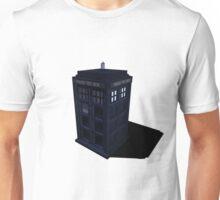 3d Tardis Doctor Who Unisex T-Shirt
