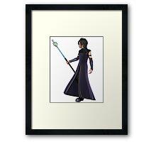 Young Male Elven Sorcerer Framed Print