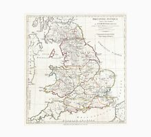 Vintage Map of England (1794) Unisex T-Shirt