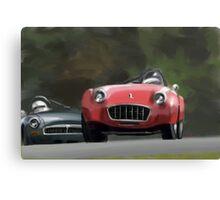 Triumph vs. MG Canvas Print