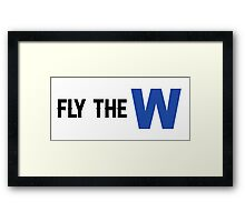 Fly the W Framed Print