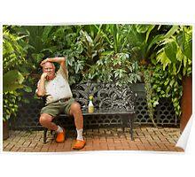 Biltmore  Gardener Poster