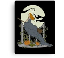 Halloween Nouveau Canvas Print
