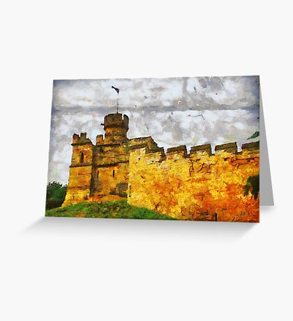 Lincoln Castle, Lincoln, UK  Greeting Card