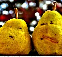 Two Pairs Four Pears by djphoto
