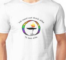 Rainbow UU Chalice Unisex T-Shirt