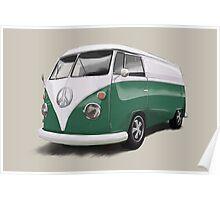 Volkswagen T1 Bus -Love Poster