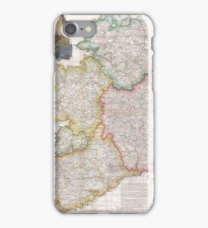 Vintage Map of Ireland (1794) iPhone Case/Skin
