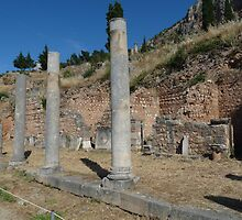 Ruins of Delphi by HELUA