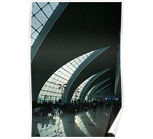Dubai International Airport - Curved Terminal Poster
