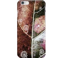 Abstract leaf iPhone Case/Skin
