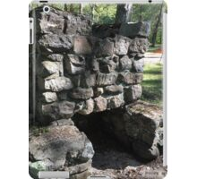 oLD StONE FIrePLACe, sTONINGtON  Pavilions iPad Case/Skin