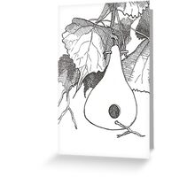 Gourd & Cottonwood Greeting Card