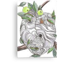 Paper Nest Canvas Print