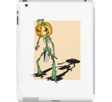 halloween pumpkin jack iPad Case/Skin
