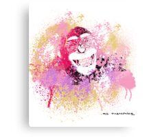 Cool Monkey graffiti Street Art Canvas Print