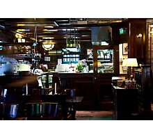 Dutch Bistro Bar Photographic Print