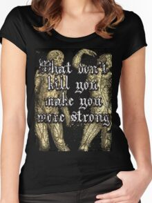 More Strong Women's Fitted Scoop T-Shirt