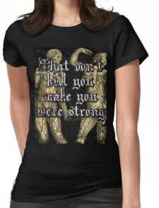 More Strong Womens Fitted T-Shirt