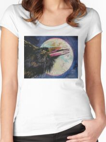 Raven Moon Women's Fitted Scoop T-Shirt