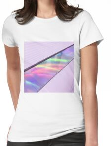 stained colours Womens Fitted T-Shirt