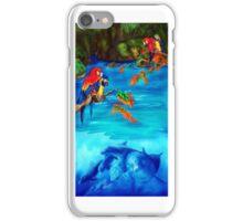 Tropical Lagoon iPhone Case/Skin