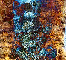 Skull and Flowers by lab80