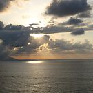 Puerto Vallarta evening with clouds by PtoVallartaMex
