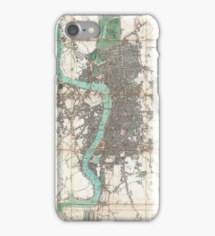 Vintage Map of London England (1806) iPhone Case/Skin