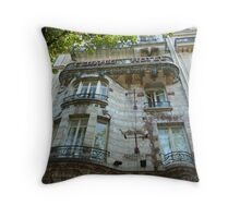 Built in 1904 by Jules Lavirotte Throw Pillow