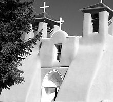 St. Francis Adobe Church by David DeWitt