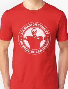 Pride Of Lancashire - Worn Effect T-Shirt