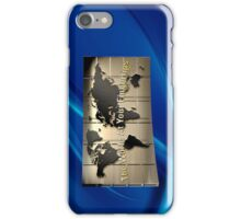 The World At Your Fingertips iPhone Case/Skin