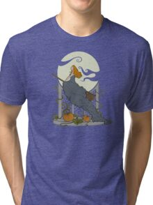 Halloween Nouveau Tri-blend T-Shirt
