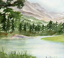My Eden - Evolution Valley, High Sierra by Diane Hall