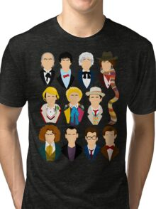 The Eleven Doctors  Tri-blend T-Shirt