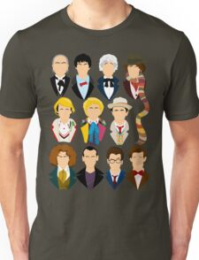 The Eleven Doctors  Unisex T-Shirt